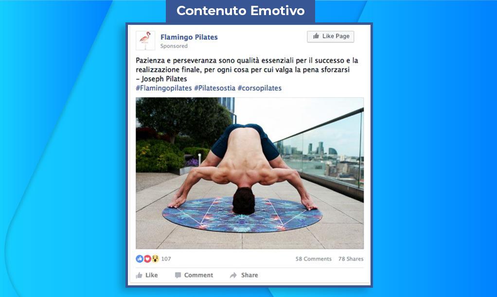 Campagna Social Media Marketing - Facebook